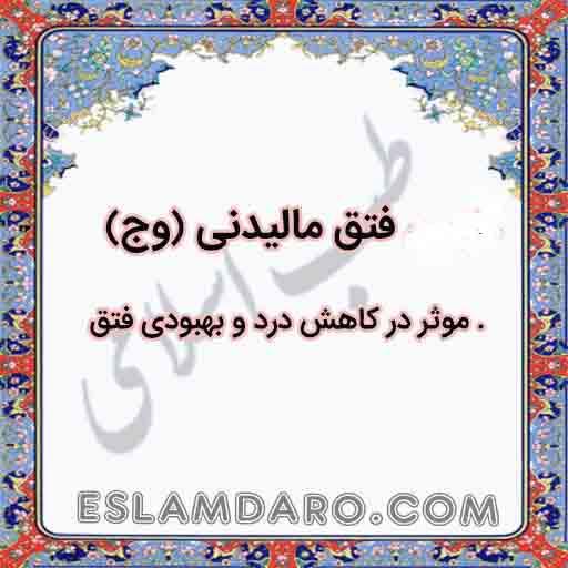 داروی فتق مالیدنی (وج) در طب اسلامی