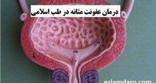 درمان عفونت مثانه