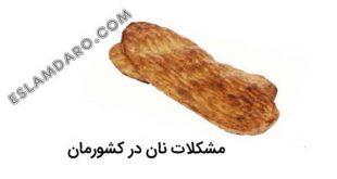مشکلات جدی نان های کشورمان
