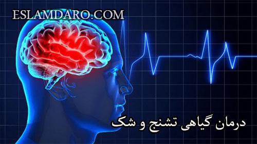 درمان گیاهی تشنج و شک
